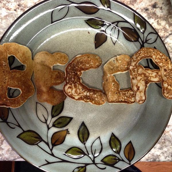 BECCA pancakes, courtesy of Father Fahringer.